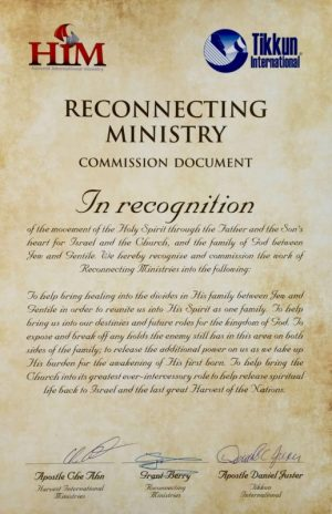 Reconnecting Ministry